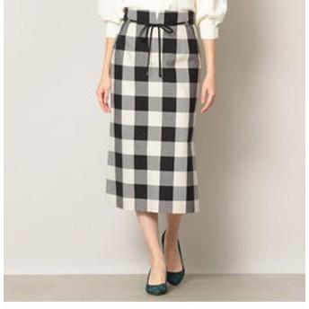 【EPOCA:スカート】【EPOCA THE SHOP】チェックタイトスカート