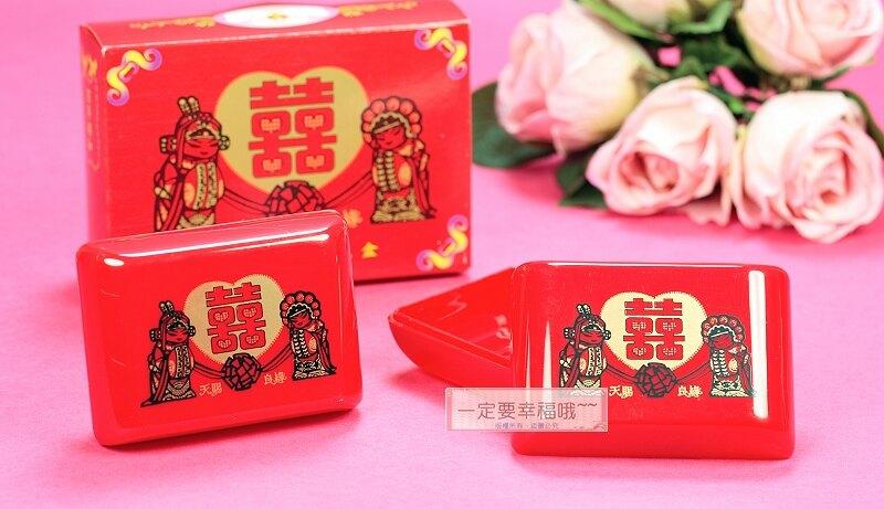 天賜良緣皂盒2入、新娘嫁妝、結婚用品
