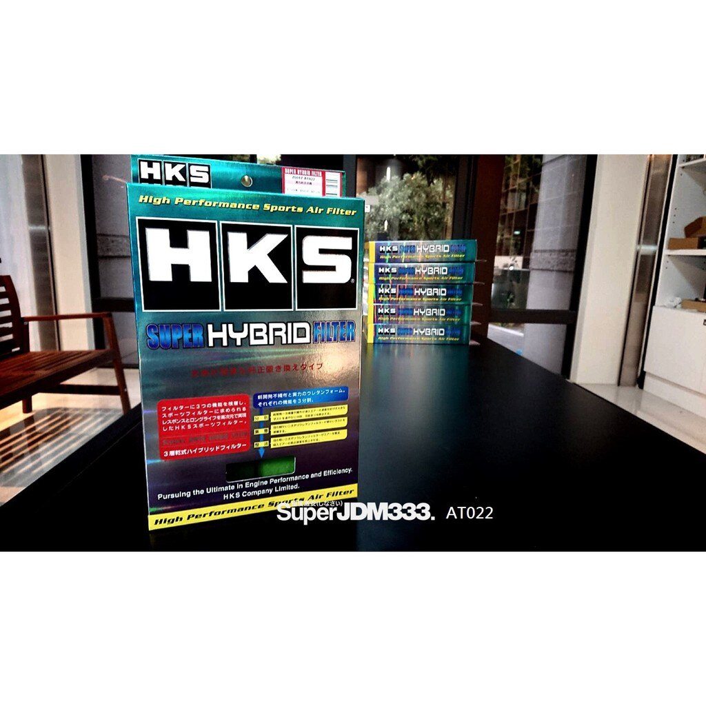 激安333-HKS 高流量空氣濾芯 AT022 LEXUS NX300H PRIUS RAV4 HYBRID