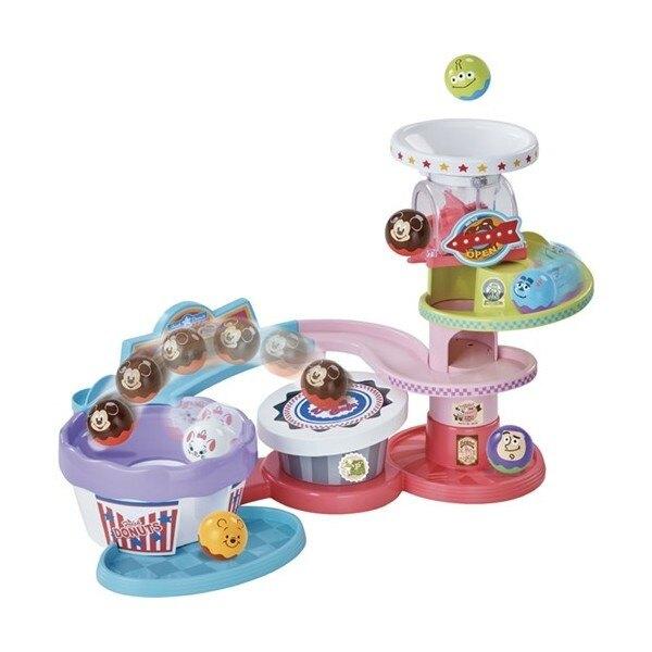 【Fun心玩】DS86886 麗嬰 TAKARA TOMY Disney 迪士尼 球球軌道組 滾滾球 幼兒 嬰兒 禮物