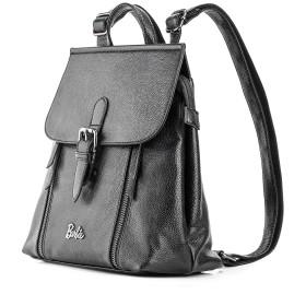 女性の女の子のクラムシェル色ブラックグレーグリーン#BBBP154(ブラック)のためのPUのリターンシリーズからバービーバックパック
