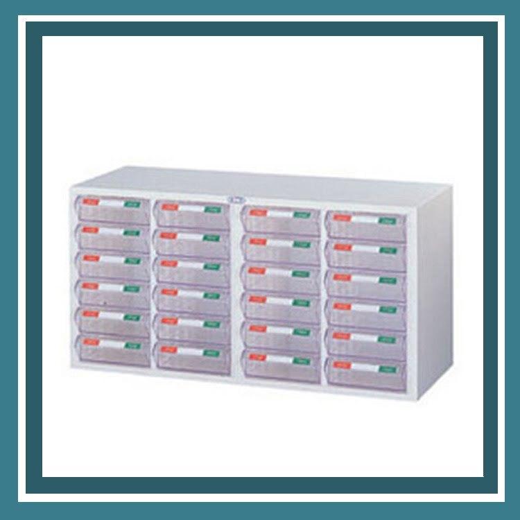 『商款熱銷款』【辦公家具】CK-1424P (PS) 牙白 表單櫃 零件櫃 櫃子 檔案 收納