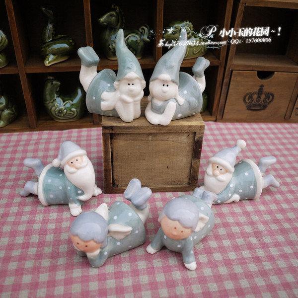 【夢幻國度:童話之語】可愛時尚家居飾品 工藝品擺件 結婚禮物一對(圖一)