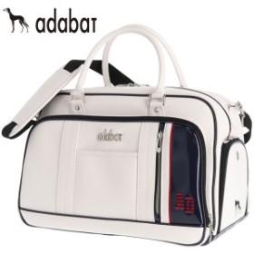 adabat アダバット メンズ ボストンバッグ ABB403 WN ホワイト/ネイビー [2019年モデル]