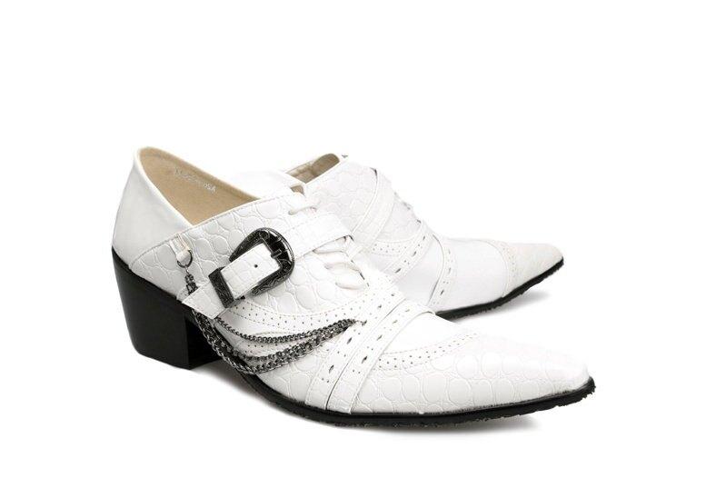 ☆真皮皮鞋 休閒鞋-時尚流行經典個性男尖頭鞋6s85【義大利進口】【米蘭精品】