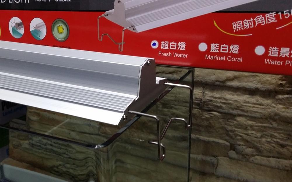 【西高地水族坊】伊士達 ISTA 最新款 高功率可麗燈 LED跨燈4尺LED跨燈(海水藍白燈)