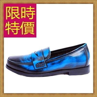 ★樂福鞋休閒鞋-英倫學院風懶人男皮鞋3色59p25【韓國進口】【米蘭精品】
