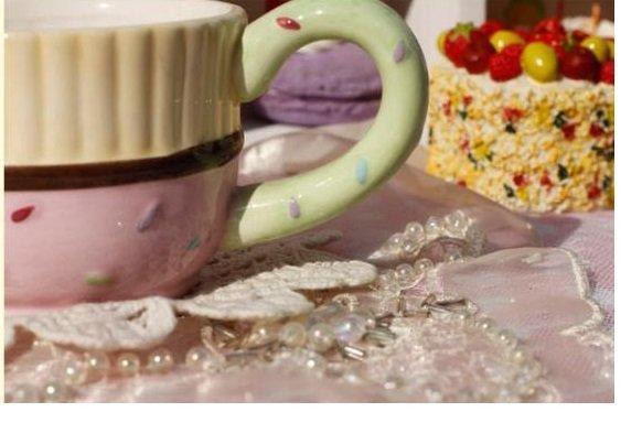 粉色陶瓷帶把奶杯 咖啡杯 牛奶杯 個性杯子 歐式奶杯 創意牛奶杯