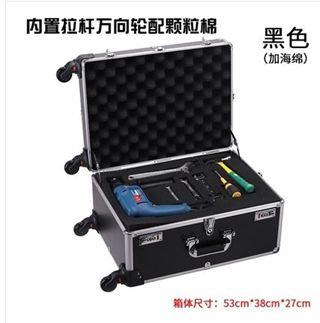 鋁合金拉桿工具箱儀器展示運輸箱攝影機箱樣品手提多功能包裝箱 MKS免運