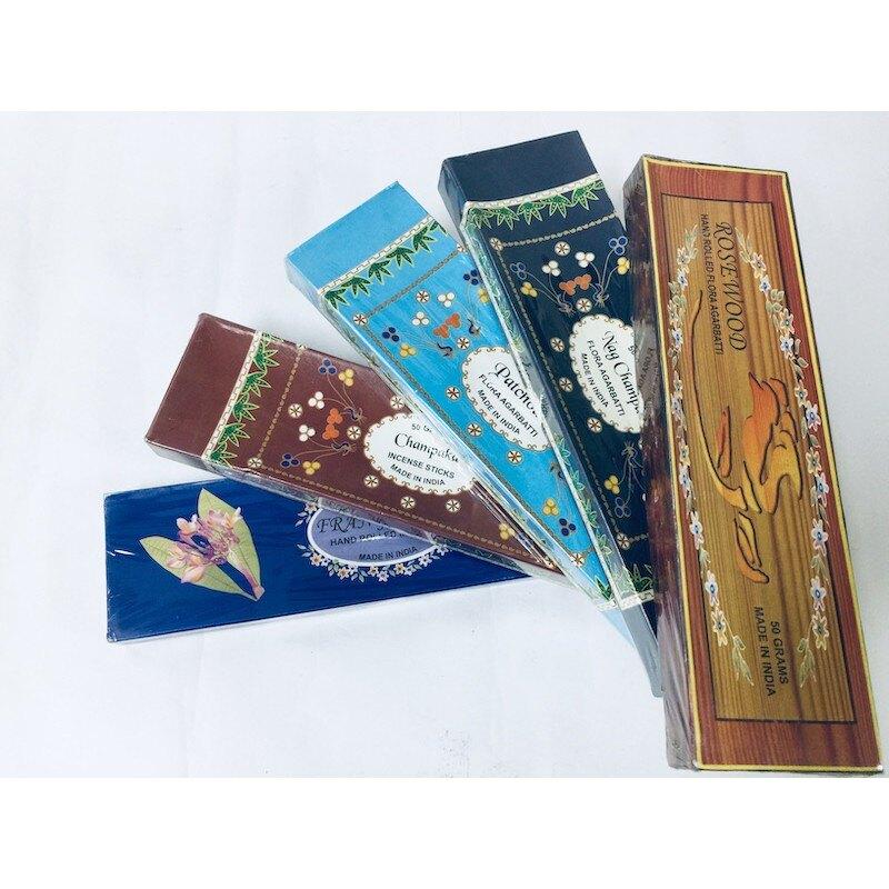 [綺異館]印度香 廣藿香 量販裝 50克 Singh PATCHOULI FLORA 售Darshan satya