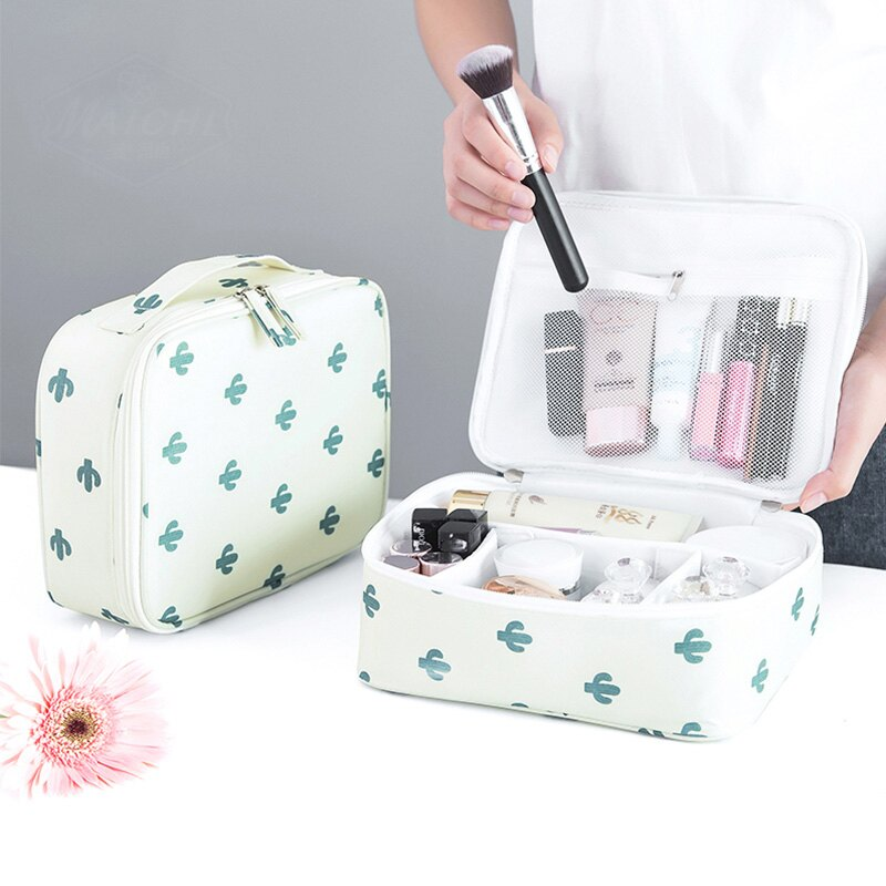容量防水特大女款式韓式迷你包簡單簡易方袋化妝品新款大中化妝包