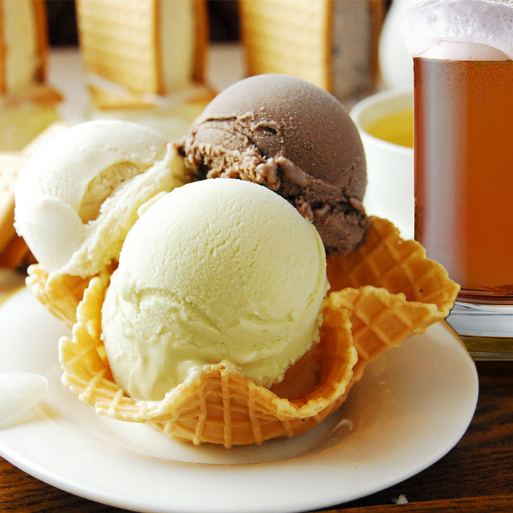 【Bella227】【手工冰淇淋】伯納德濃啤酒(4%)(130ml)