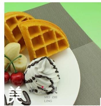 仿真水果奶油鬆餅模型
