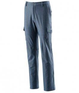【速捷戶外】台灣Wildland 荒野 0A22396-45 男RE彈性直筒多口袋保暖長褲-地中海藍