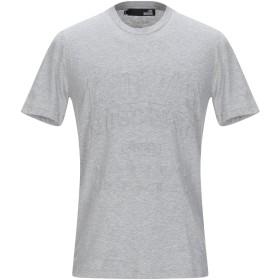 《セール開催中》LOVE MOSCHINO メンズ T シャツ ライトグレー XS コットン 100% / ポリウレタン