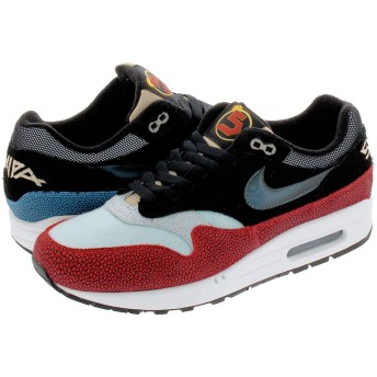 [ナイキ] AIR MAX 1 PREMIUM BLACK/BLACK/CINDER ORANGE 【SWIPA】 US9-27.0cm