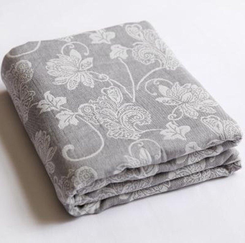 夏季薄款純棉紗布毛巾被單人雙人午休空調蓋毯 LX