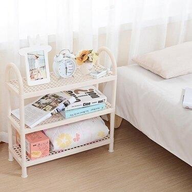 免運 日式塑料鞋架經濟型簡易多層宿舍寢室鞋子收納架現代簡約家用鞋櫃
