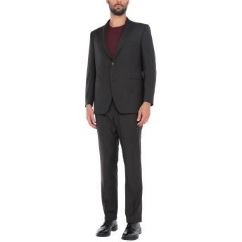 《セール開催中》TAGLIATORE メンズ スーツ ダークブラウン 54 スーパー140 ウール 100%