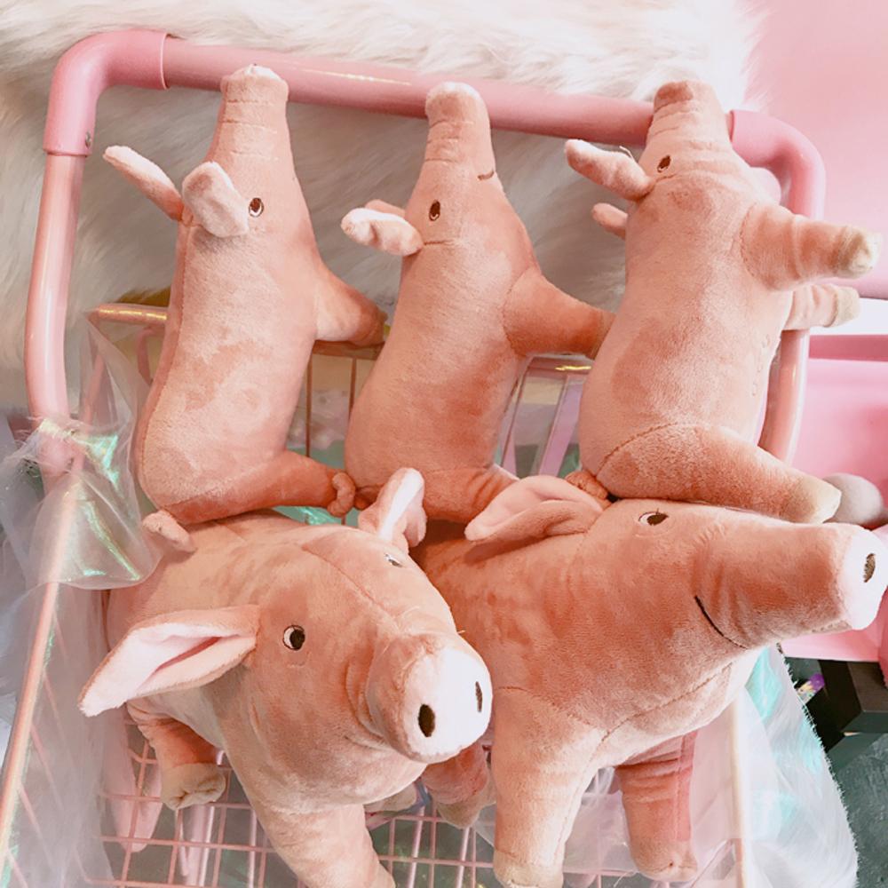 韓國卡通可愛小豬軟萌安撫毛絨玩具公仔男生女生日禮物玩偶擺件女 聖誕節禮物