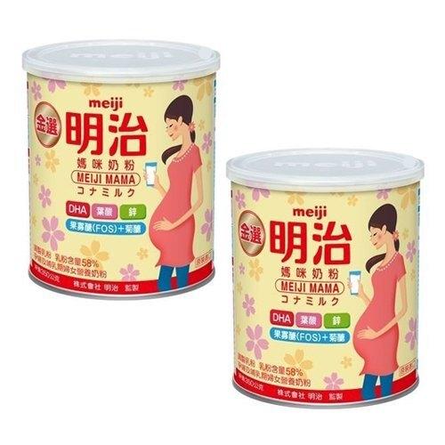 【明治】金選明治 媽咪奶粉350gx2瓶