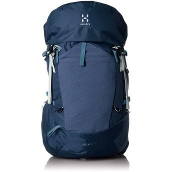[ホグロフス] 登山用リュック VINA 40 ヴィーナ40 背中が蒸れにくい サイドオープニング ブルーサイン BLUE INK/S-M