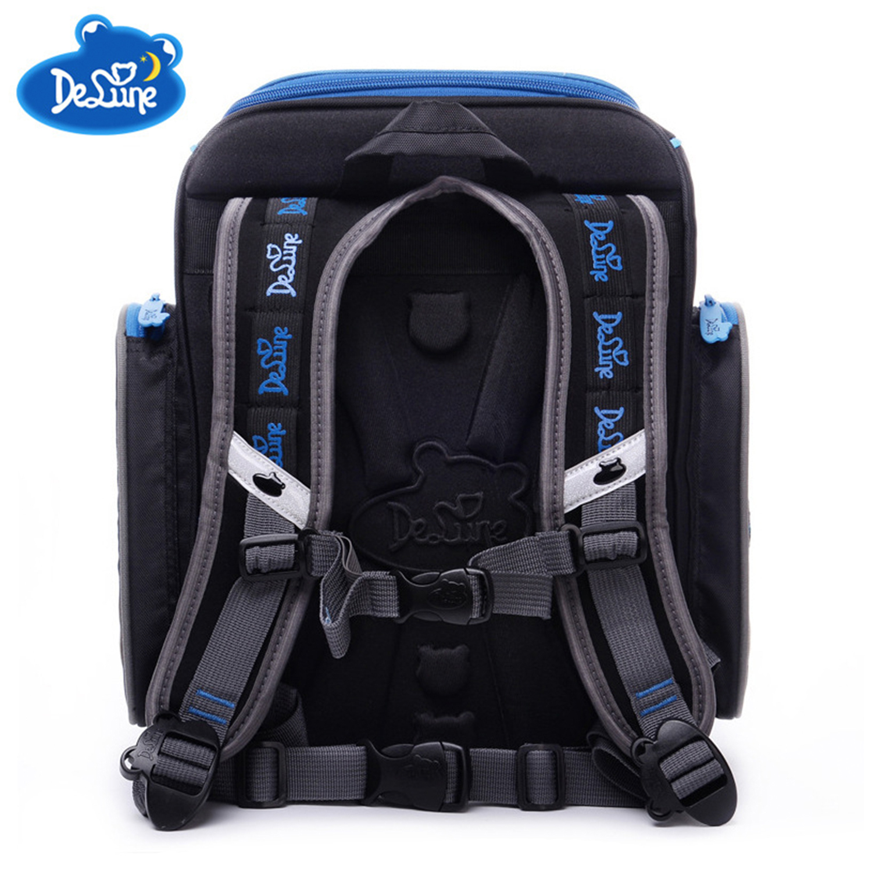 【Delune】【俄羅斯品牌護脊書包】【男童書包】藍色跑車 6-103