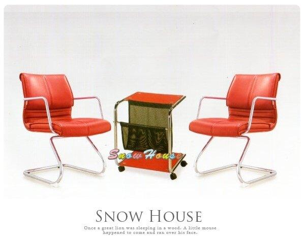 ╭☆雪之屋居家生活館☆╯R211-02-03 YS-890C洽談椅(紅皮)(單張)/辦公椅/會議椅/休閒椅(不含桌子)
