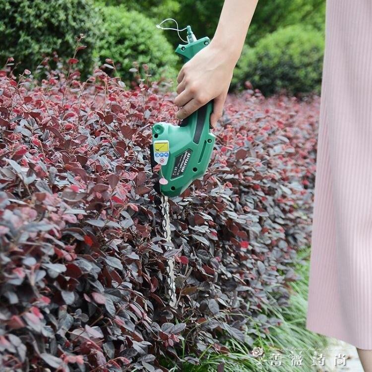 都格派充電式家用小型割草機電動剪草機便攜式多功能綠籬修剪機 WD