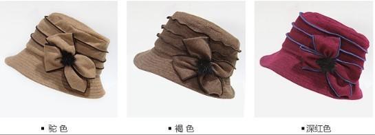 秋冬新款多層蛋糕頂小禮帽 1入