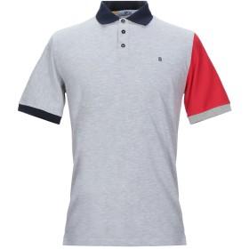 《セール開催中》MQJ メンズ ポロシャツ ライトグレー S コットン 95% / ポリウレタン 5%