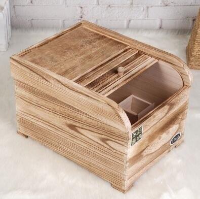 米桶米缸實木質米箱裝米桶盒子儲面箱盛米缸5/10/15/20kg30斤家用防蟲密封
