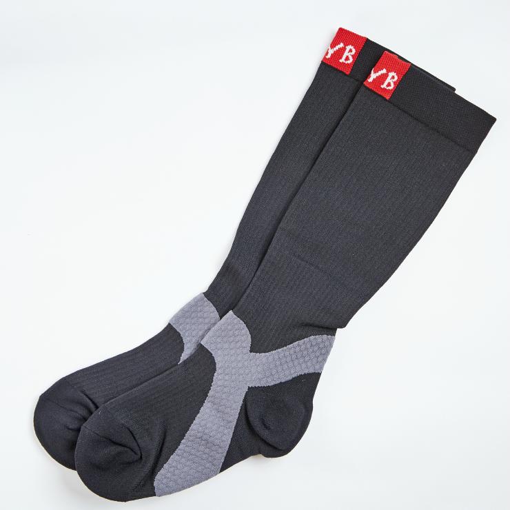 COOLMAX 運動款 漸進式壓縮小腿襪 300DEN 男女皆可(1雙入) M/L可選