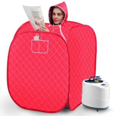 汗蒸箱家用汗蒸房成人單人滿月 蒸汽機桑拿浴箱熏蒸全身發汗箱 年會尾牙禮物