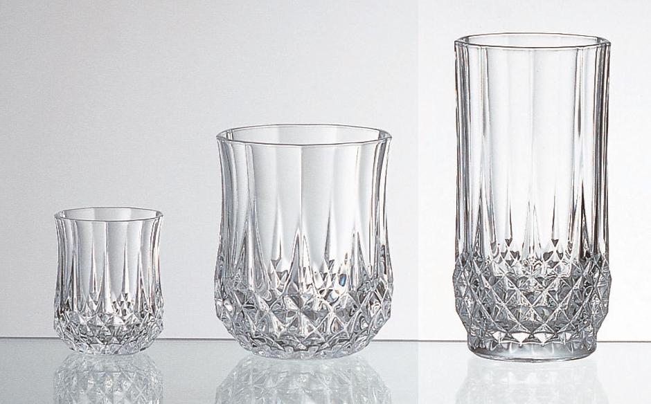 法國製CRISTAL D'ARQUES水晶杯 一口杯55ml/威士忌杯230ml/威士忌長杯280ml