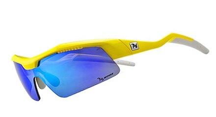 【【蘋果戶外】】720armour B318-8 Tack 亮螢光淺黃 灰藍色多層鍍膜 防爆PC 飛磁換片 自行車眼鏡 風鏡 運動眼鏡 防風眼鏡 運動太陽眼鏡