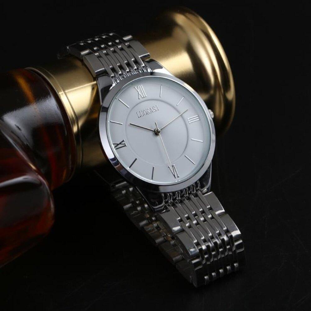 免運 2018新款手錶男學生潮非機械全自動石英錶韓版簡約潮流防水男錶