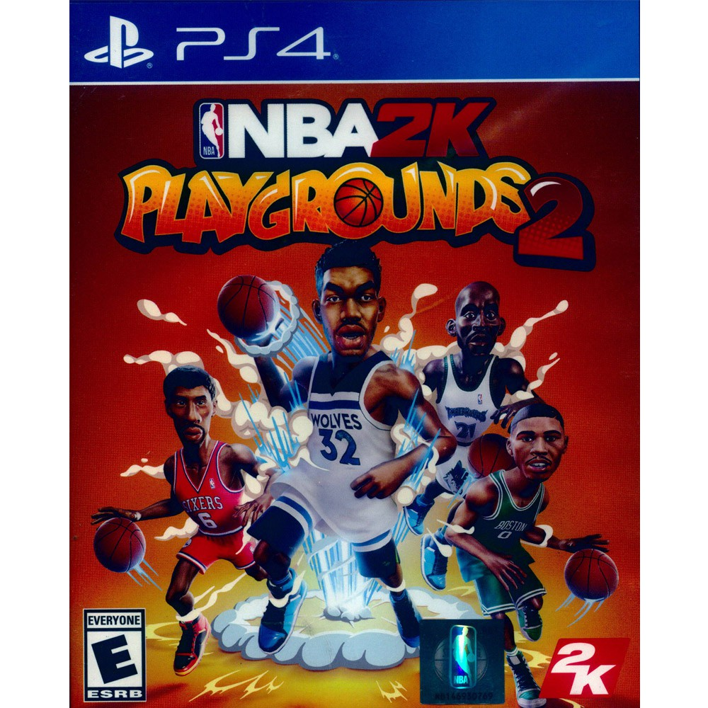 PS4 NBA 2K 熱血街球場 2 中英文美版 NBA 2K Playgrounds 2【一起玩】(現貨全新)