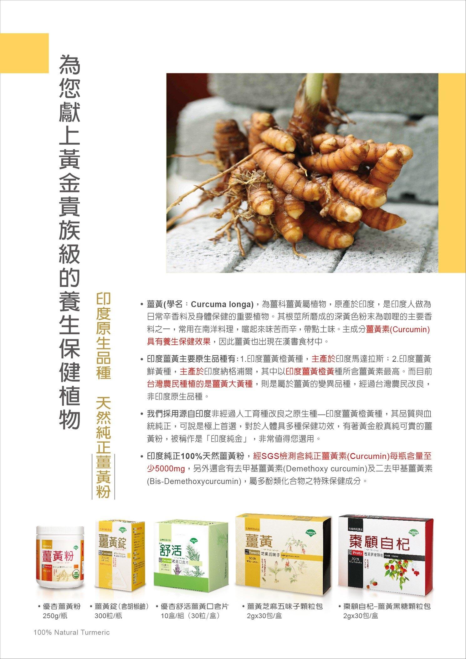 《小瓢蟲生機坊》台灣優杏 - 薑黃粉(250g) 薑黃