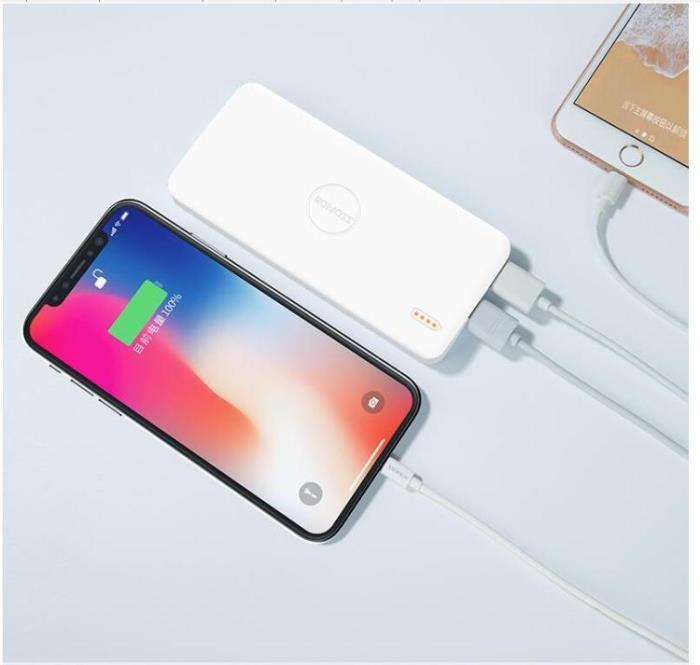 10000毫安培纖薄可愛便攜手機通用聚合物充電寶炫彩ins少女創意行動電源