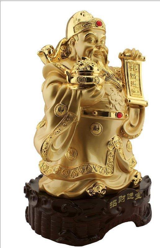 財神擺件 財神爺 佛像 家居飾品 客廳裝飾品擺設 招財進寶文財神