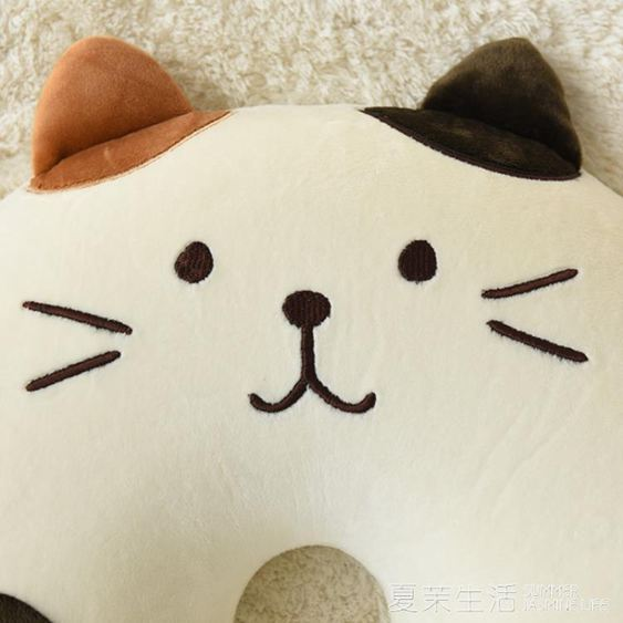 日本貓咪坐墊辦公室慢回彈椅墊加厚孕婦翹臀美臀墊子送女生禮物林之舍家居YTL