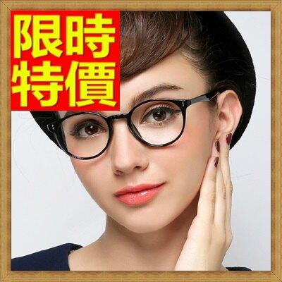 眼鏡框鏡架-圓型復古潮流超輕女配件5色64ah19【獨家進口】【米蘭精品】