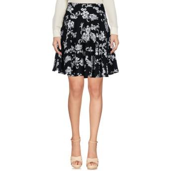 《セール開催中》LE COEUR TWINSET レディース ひざ丈スカート ブラック XS コットン 100%