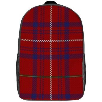 グリッドパターンバックパックバッグメンズとレディーススクールバッグ学校旅行屋外バックパック大容量ラップトップバッグ