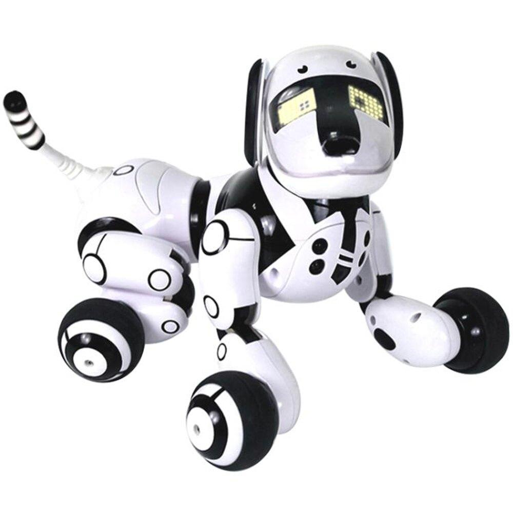 智慧玩具機器人 兒童遙控電動機器狗 語音互動跳舞 WD 母親節禮物