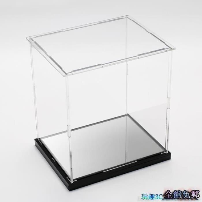 手辦展示盒 拼裝式亞克力高透明動漫模型手辦高達防塵盒子