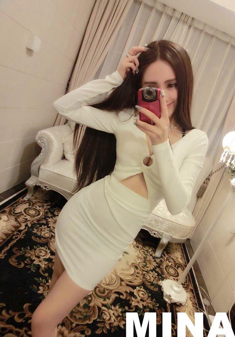修身顯瘦露肚設計  長袖短裙夜店套裝 預購七天