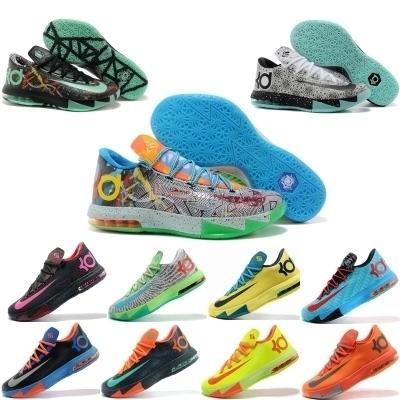 秋季杜蘭特6代籃球鞋男鞋6鴛鴦杜7全明星夜光低幫8戰靴1