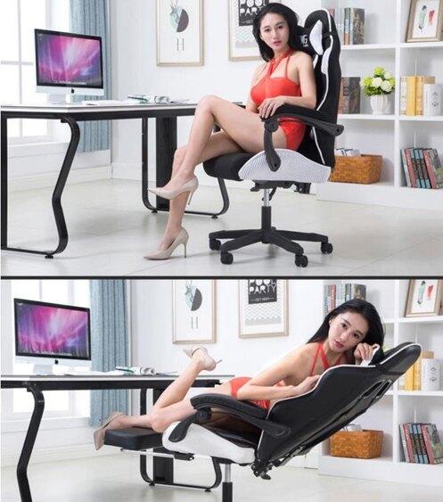 電腦椅-家用椅子升降辦公轉椅直播競技電競椅學生游戲座椅網吧轉椅  聖誕節禮物